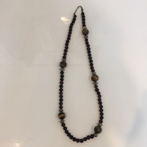 Jewelry - Brown Beaded Necklace (offers welcome)